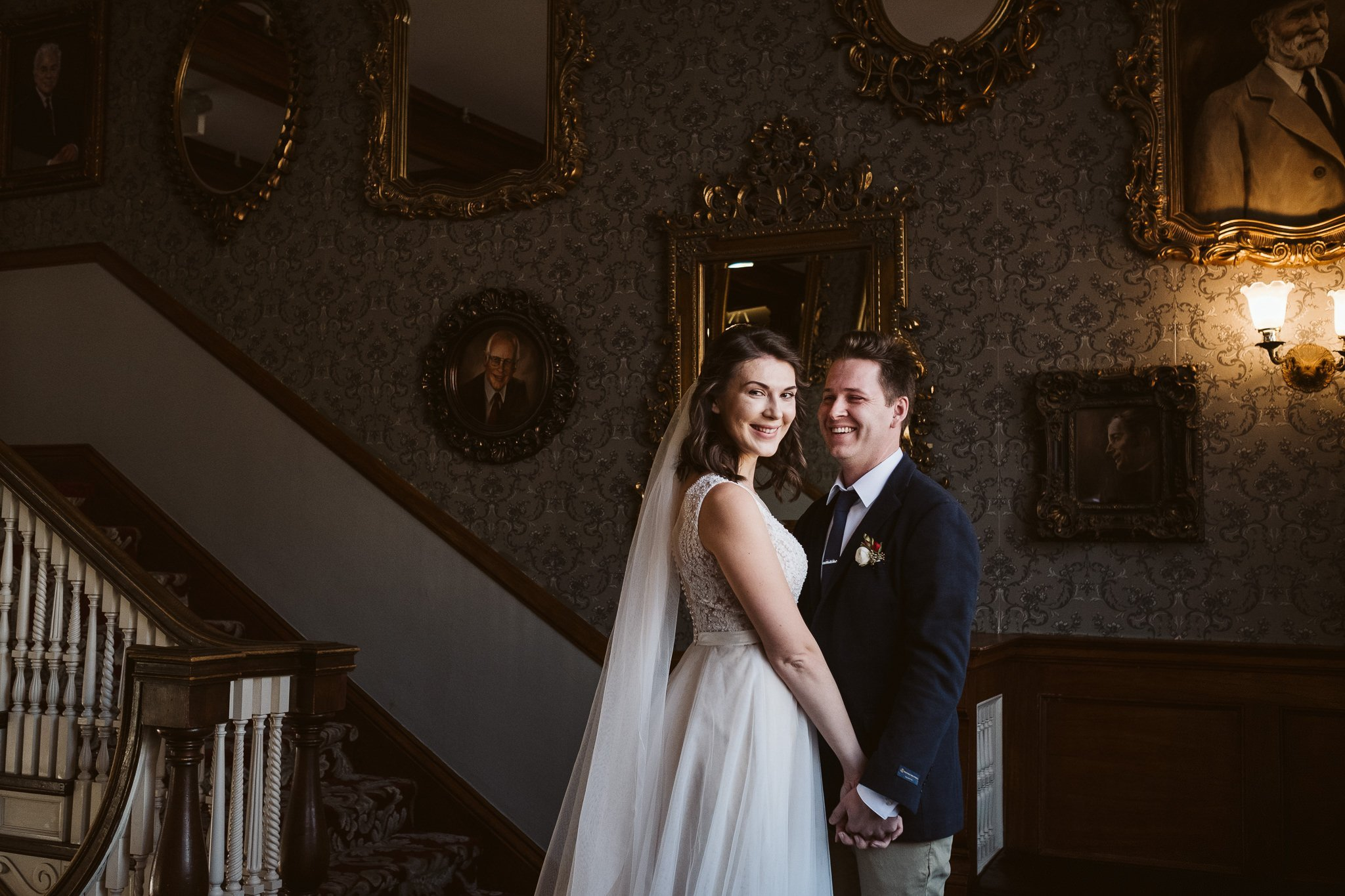 The Stanley Hotel wedding photos in Estes Park.