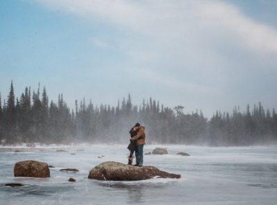 Kimberly + Kevin's Brainard Lake Engagement Session