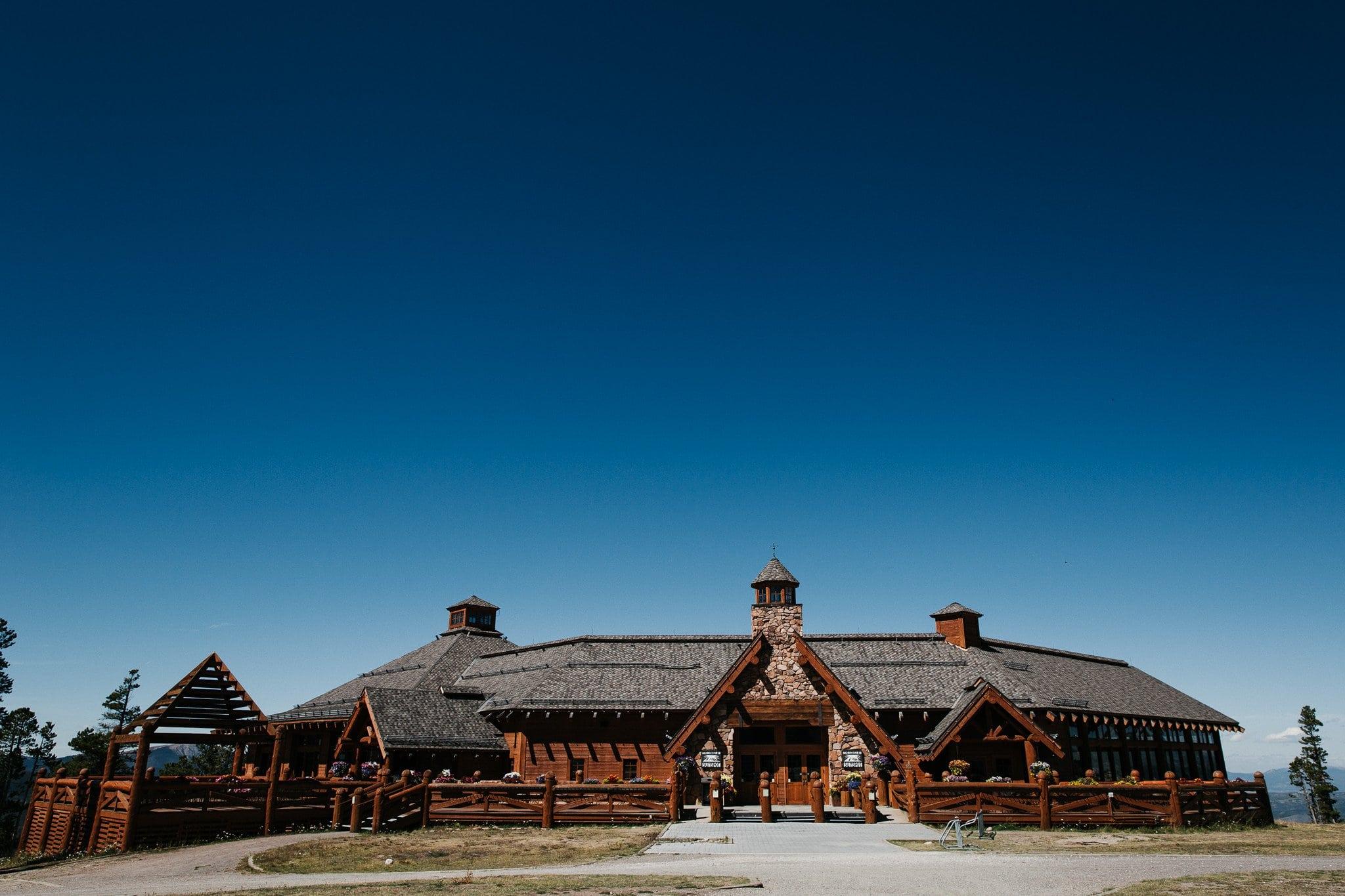Sunspot Lodge at Winter Park Ski Resort wedding venue in Colorado