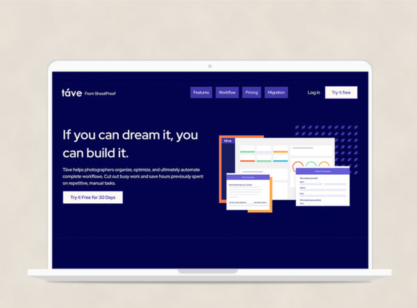 Táve CRM for Photographers