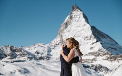 Rachael & Benjamin's Switzerland Elopement