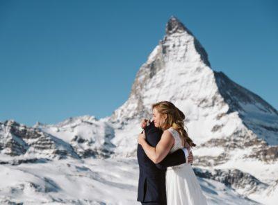 Rachael + Benjamin's Switzerland Elopement