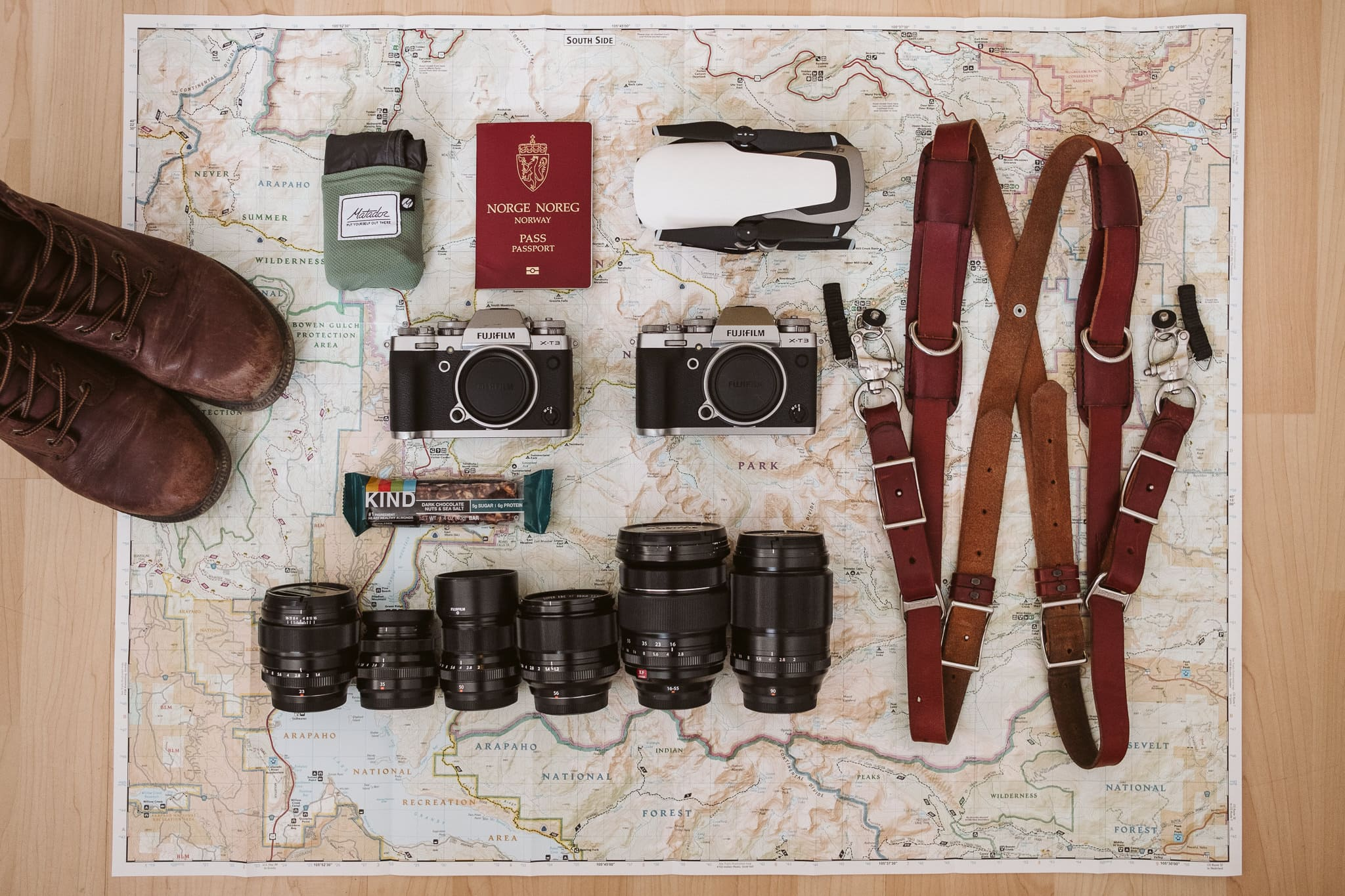 Fuji mirrorless gear bag