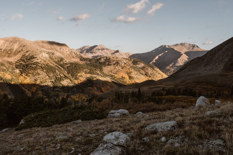 Backcountry hike in Colorado