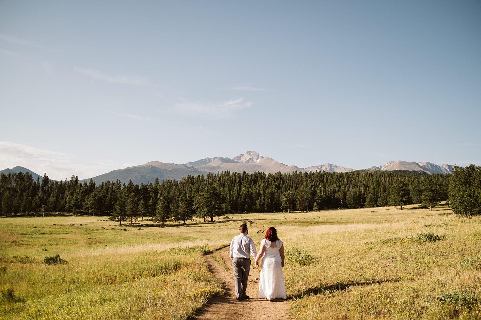 Upper Beaver Meadows elopement