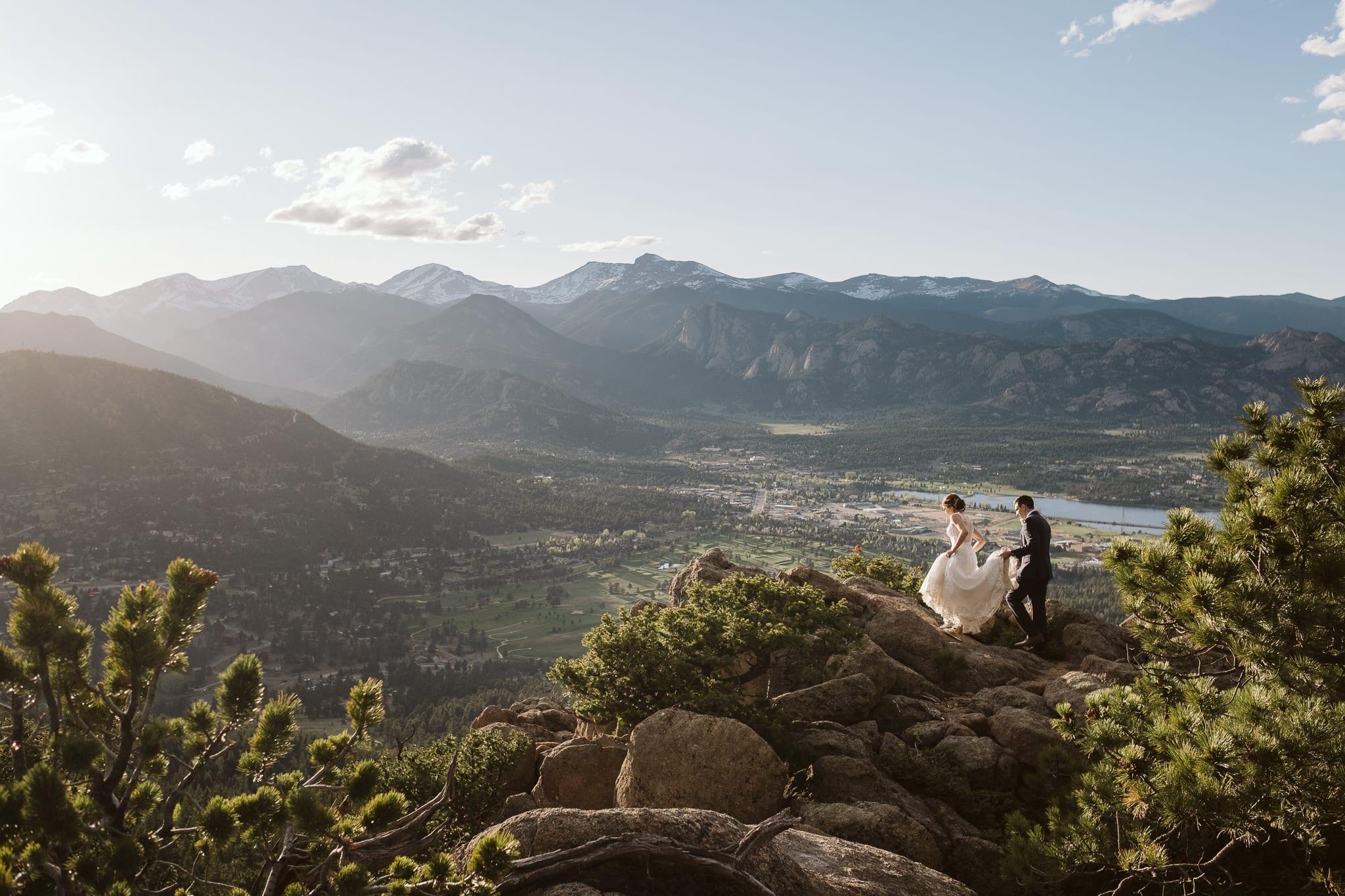 Pandemic elopement in Colorado