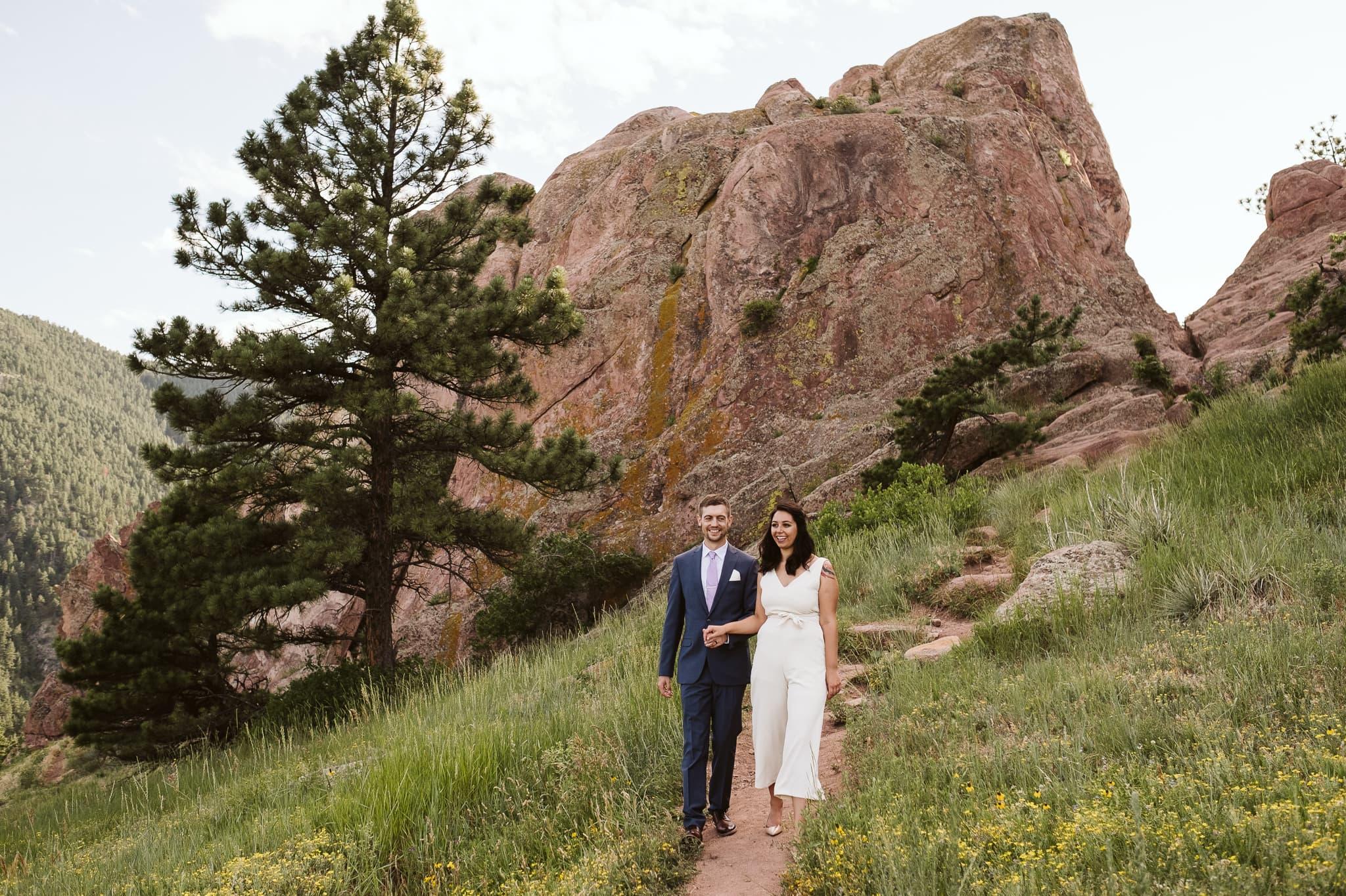 Red Rocks Trail elopement