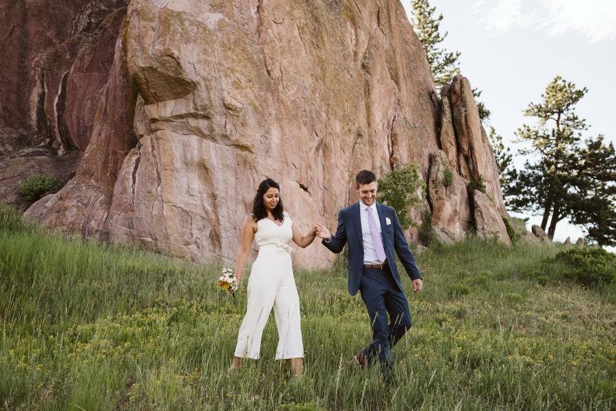Boulder, CO elopement.