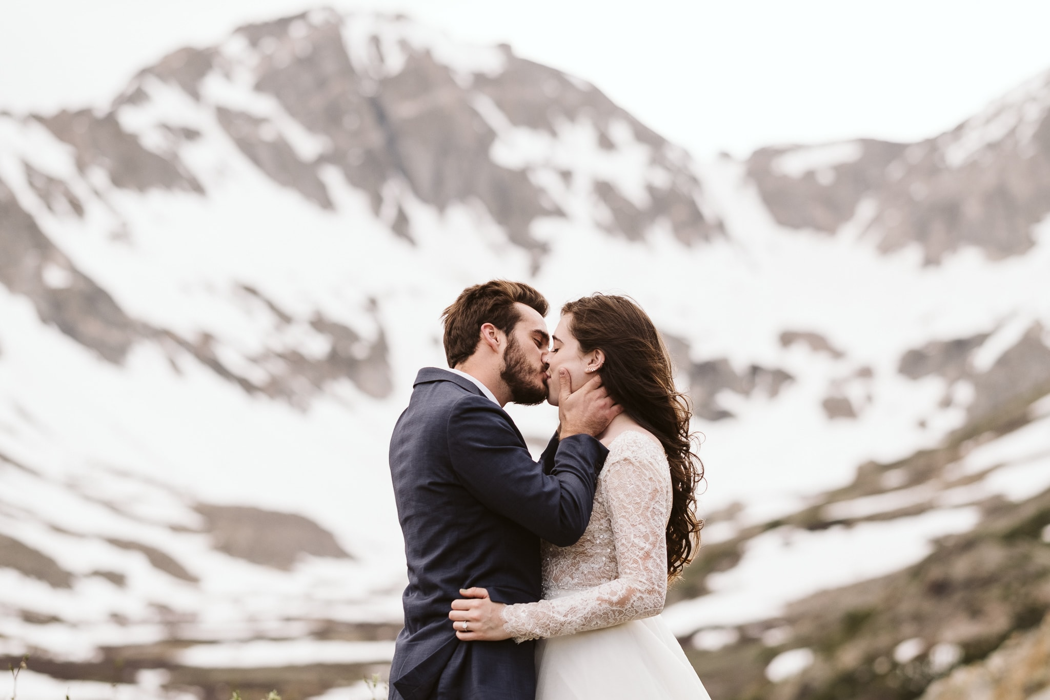 Breckenridge hiking elopement