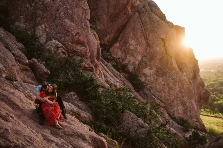 Kali + Chris's Boulder Adventure Session