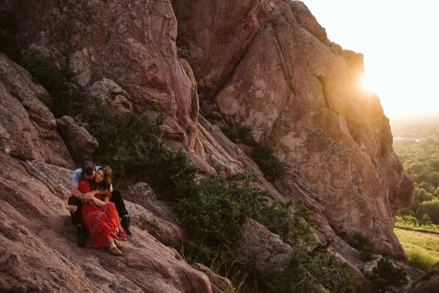 Boulder adventure session