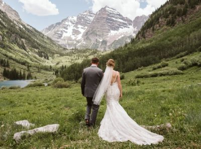 Peyton + Zach's Maroon Bells Micro-Wedding
