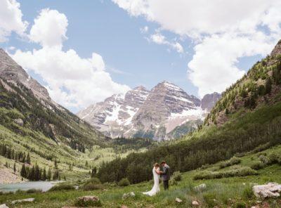Peyton + Zach's Maroon Bells Micro-Wedding