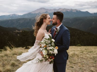 Freya + Peter's Colorado Springs Elopement