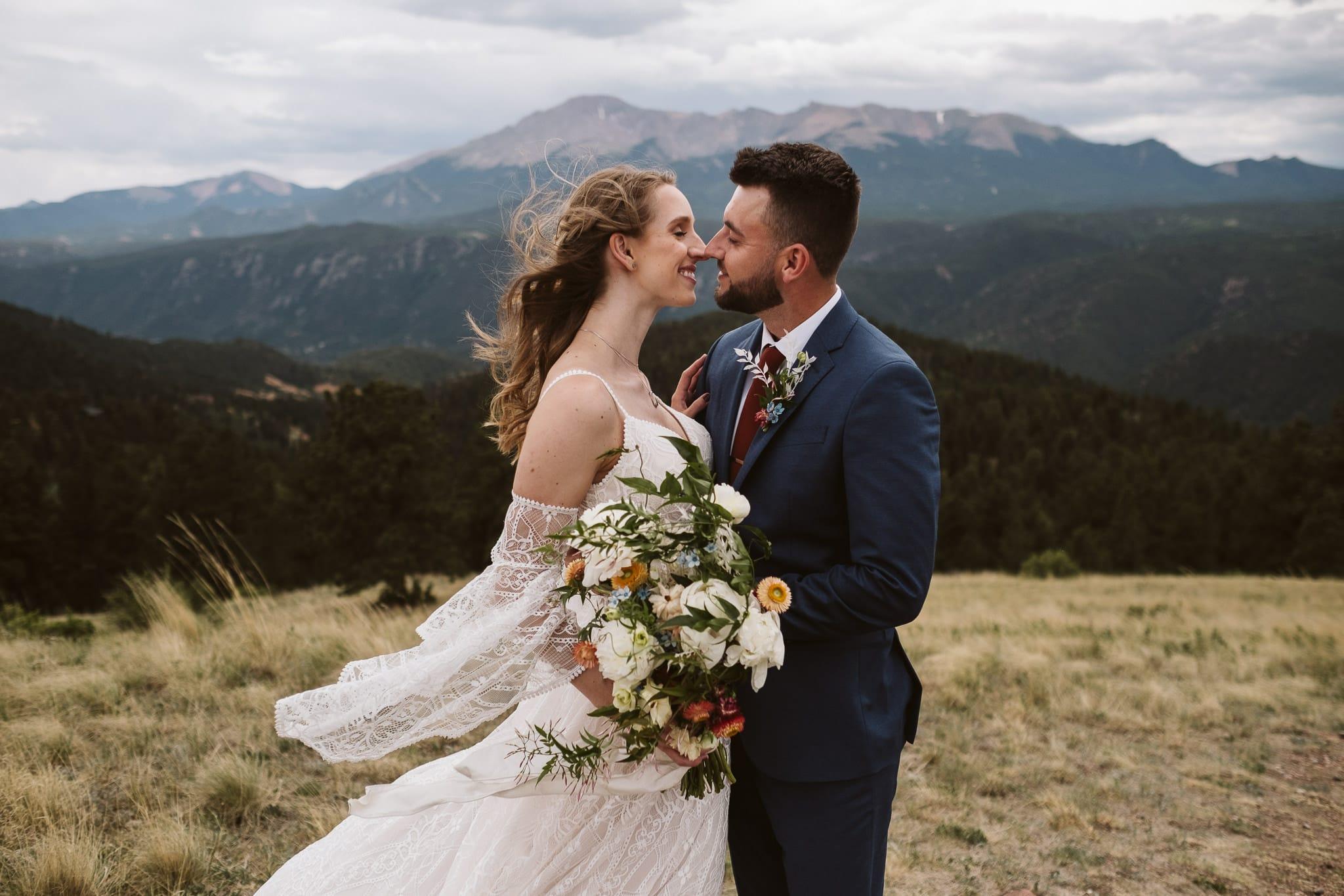 Colorado Springs elopement