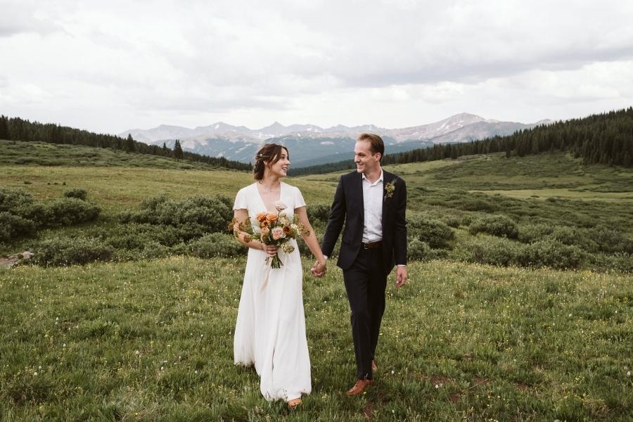 Vail mountain elopement
