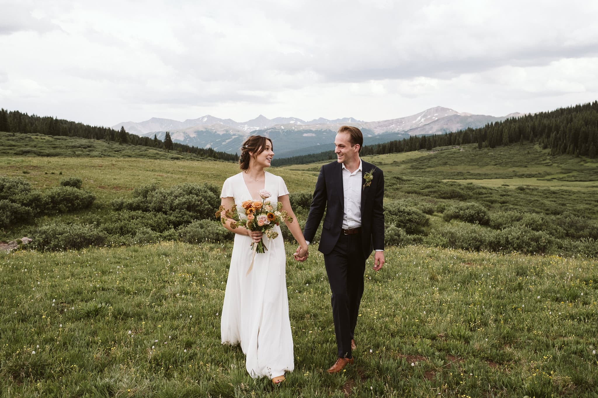 Vail mountain elopement