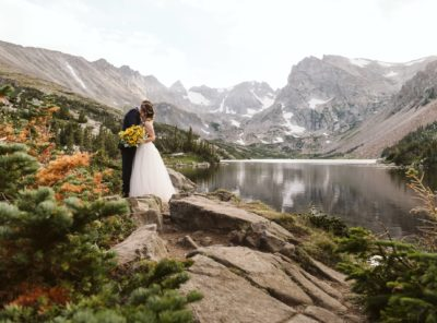 Julie + Rawls's Hiking Elopement