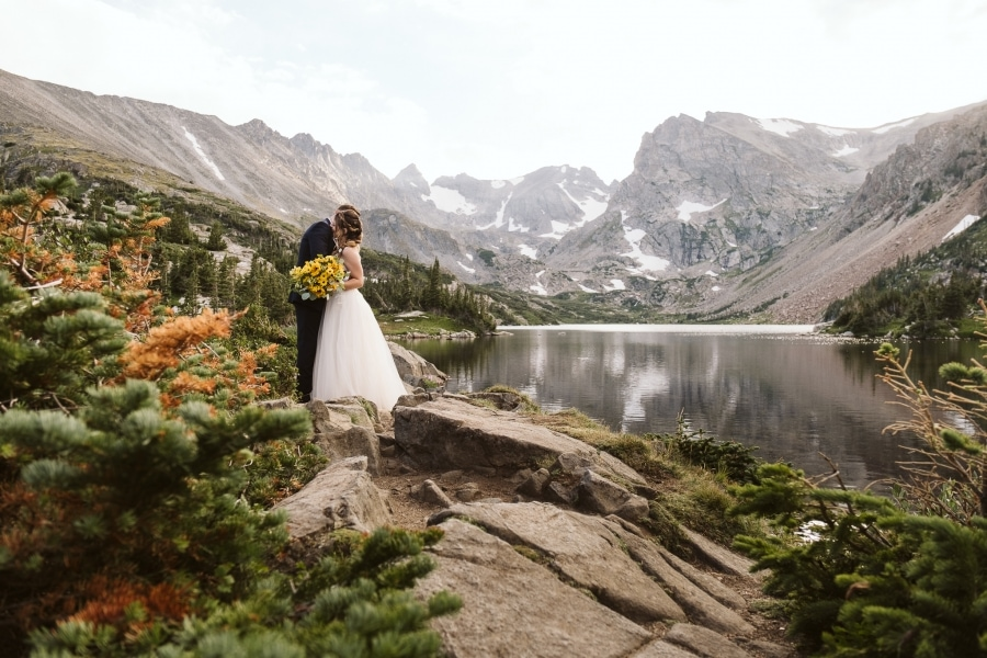 Hiking elopement in Colorado
