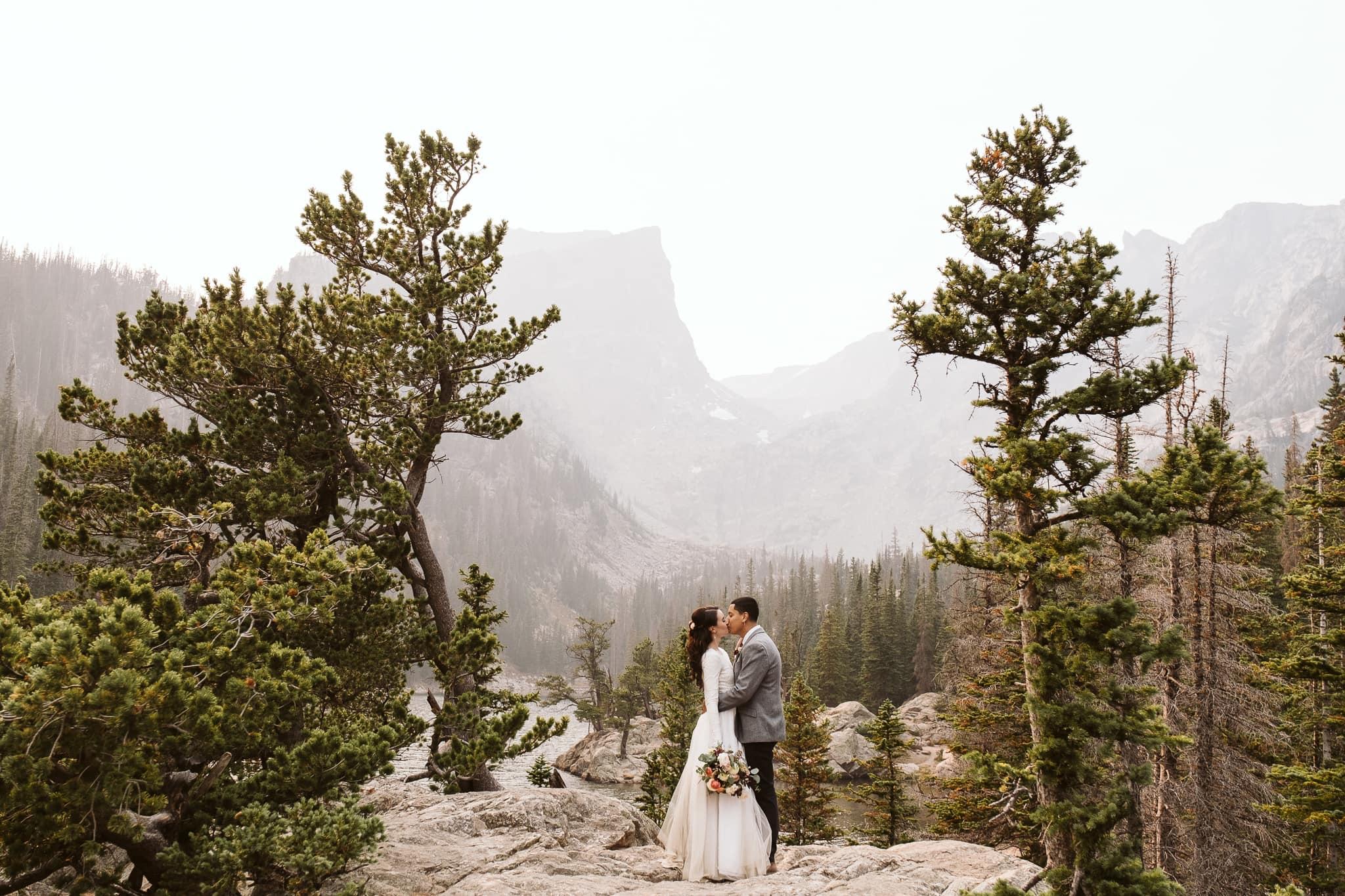Dream Lake elopement in RMNP