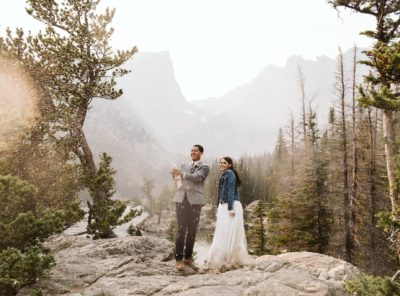 Alexis + Javy's Rocky Mountain National Park Elopement