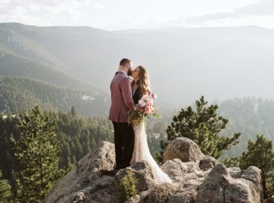 Sara + Justin's Boulder Hiking Elopement