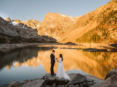 Nickie + Will's Sunrise Hiking Elopement