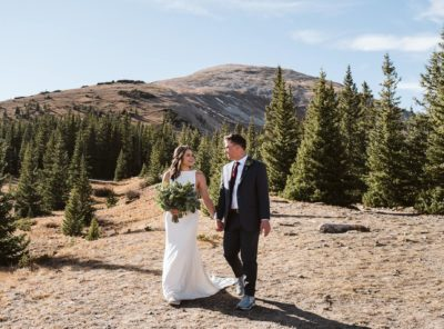 Auston + Reid's Breckenridge Elopement