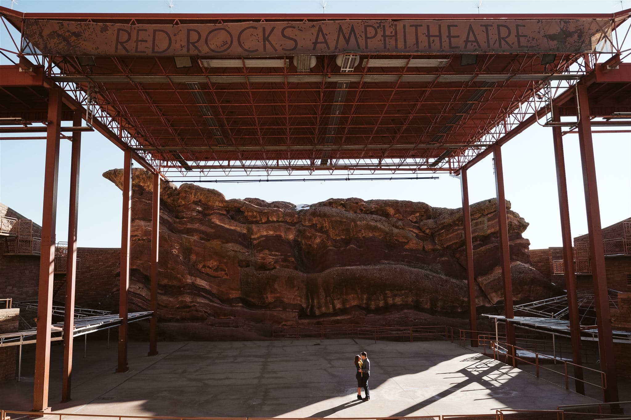 Red Rocks Amphitheater engagement session