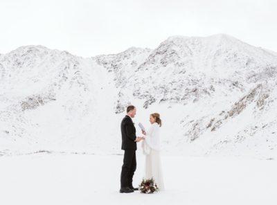 Allyson + Christian's Winter Hiking Elopement