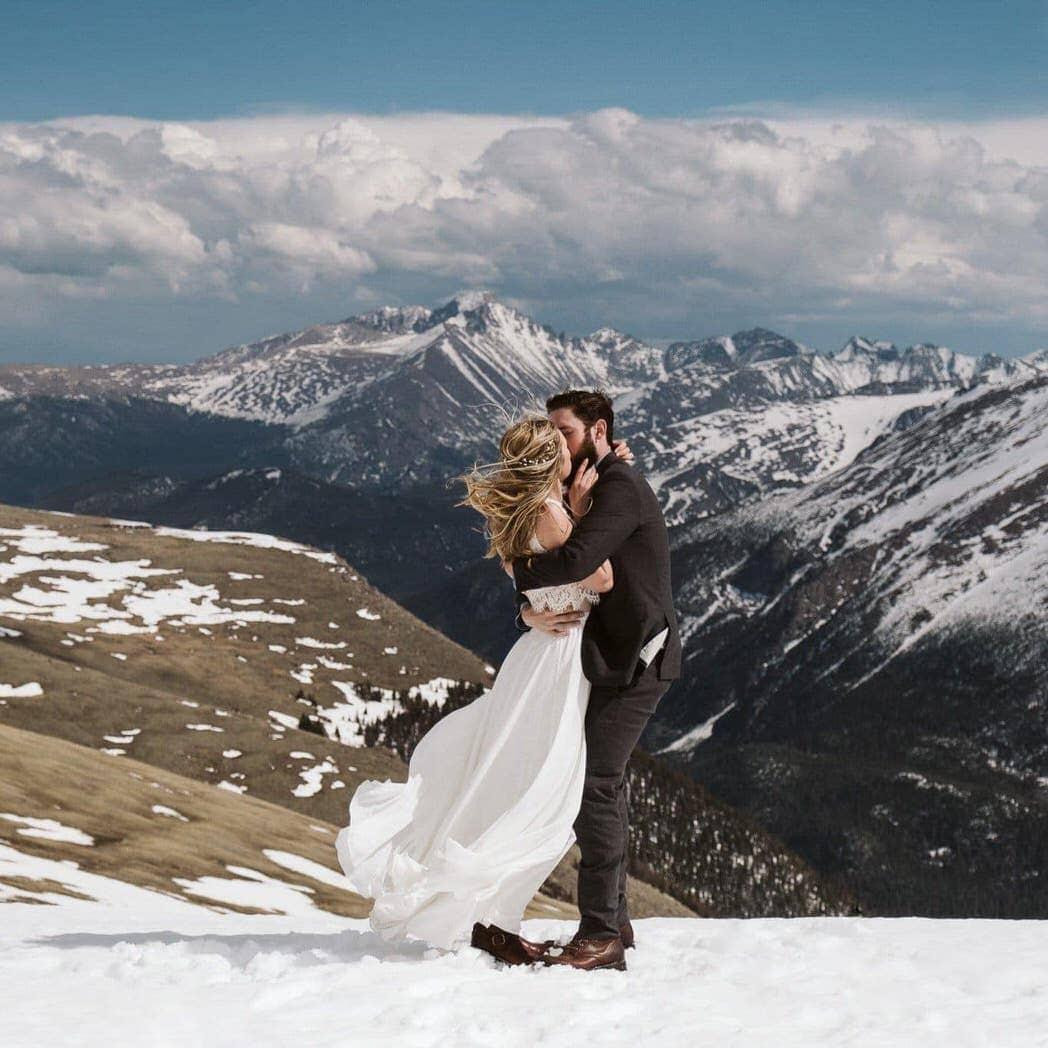 Colorado elopement photographer Larsen Photo Co.