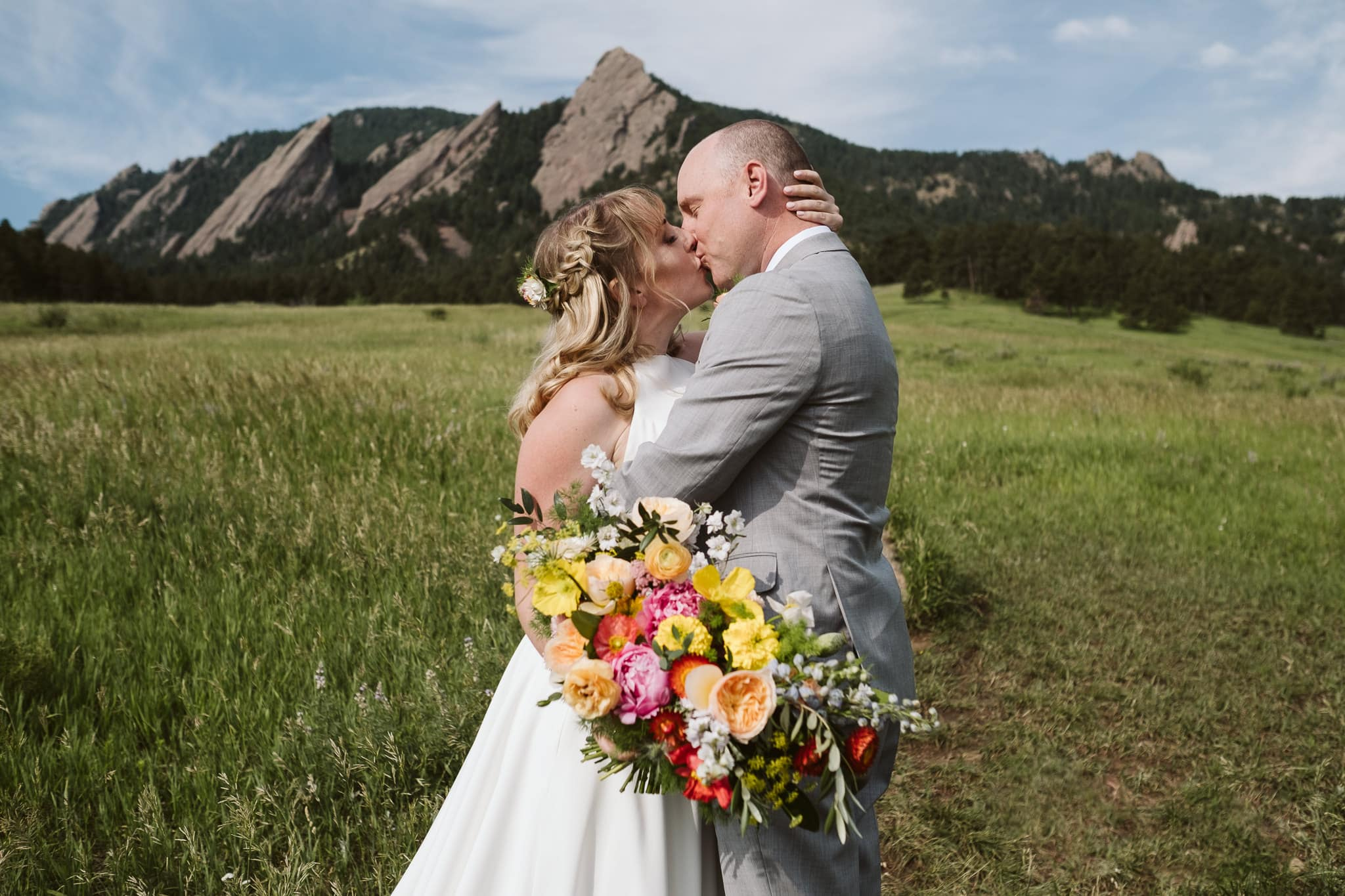 Chautauqua Park wedding photos