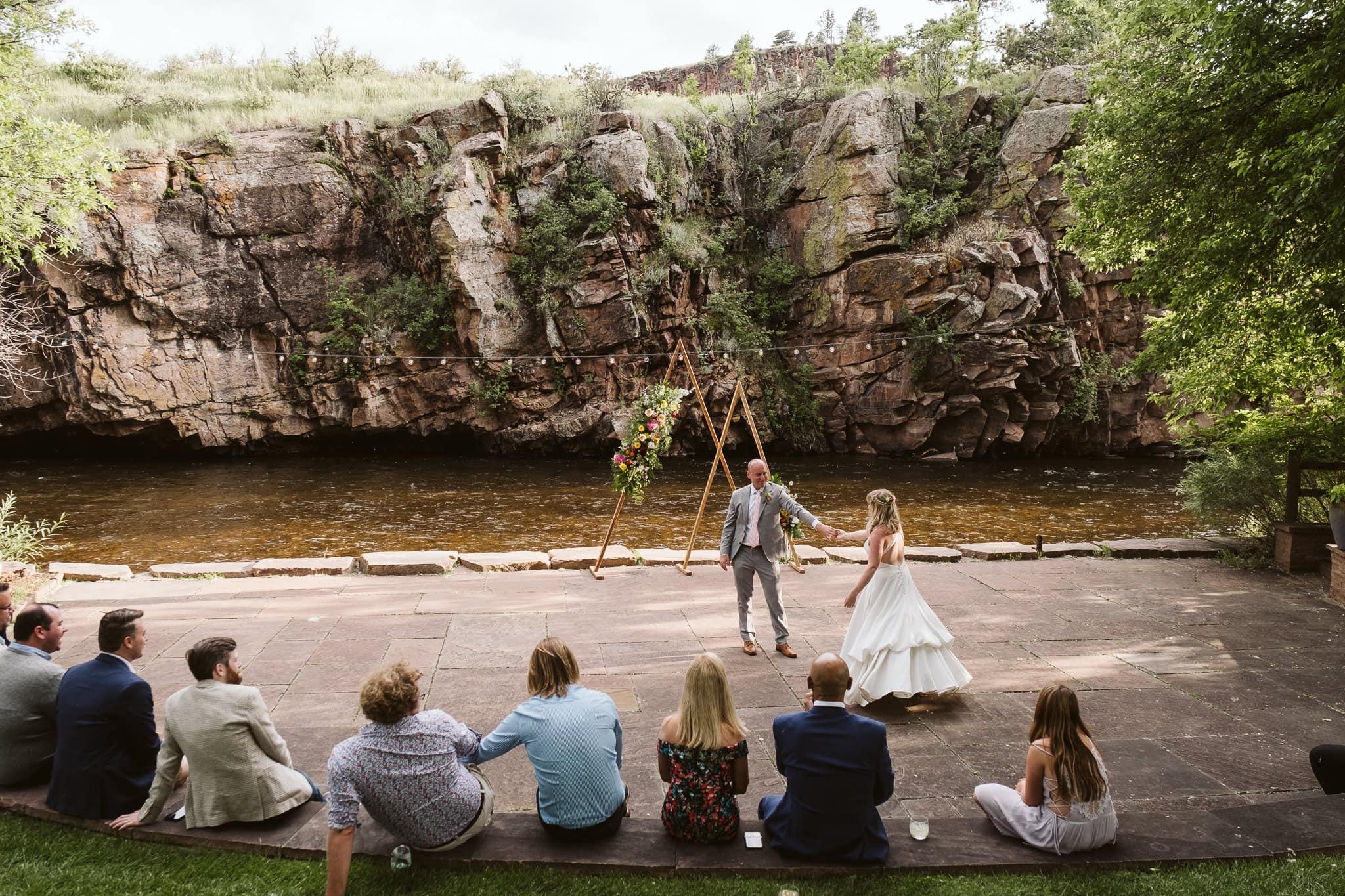River Bend wedding venue in Lyons, CO
