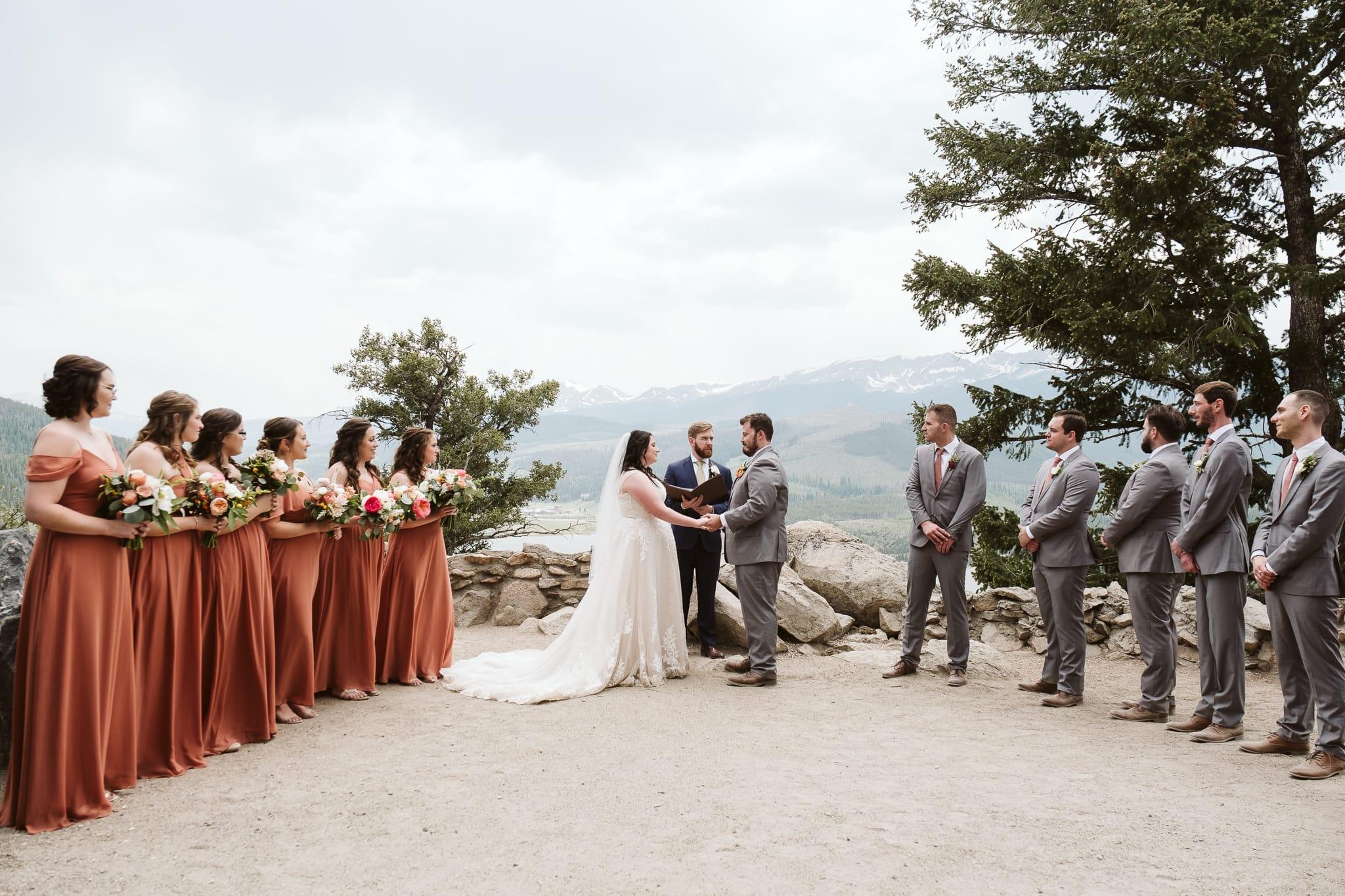 Sapphire Point Overlook wedding venue