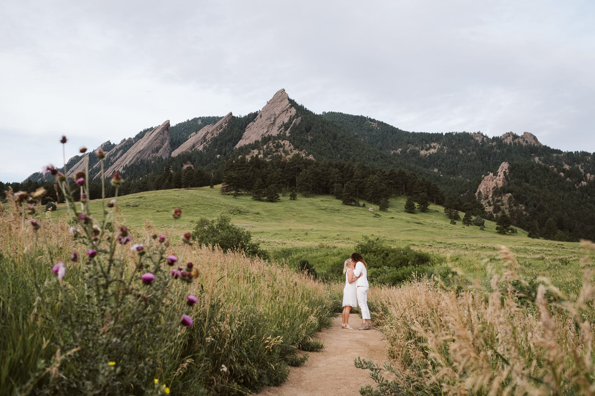 LGBTQ elopement at Chautauqua in Boulder