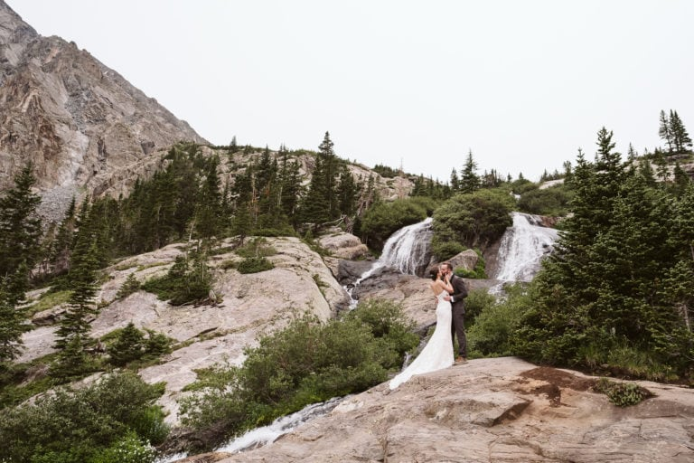 Lauren + Jack's Waterfall Elopement