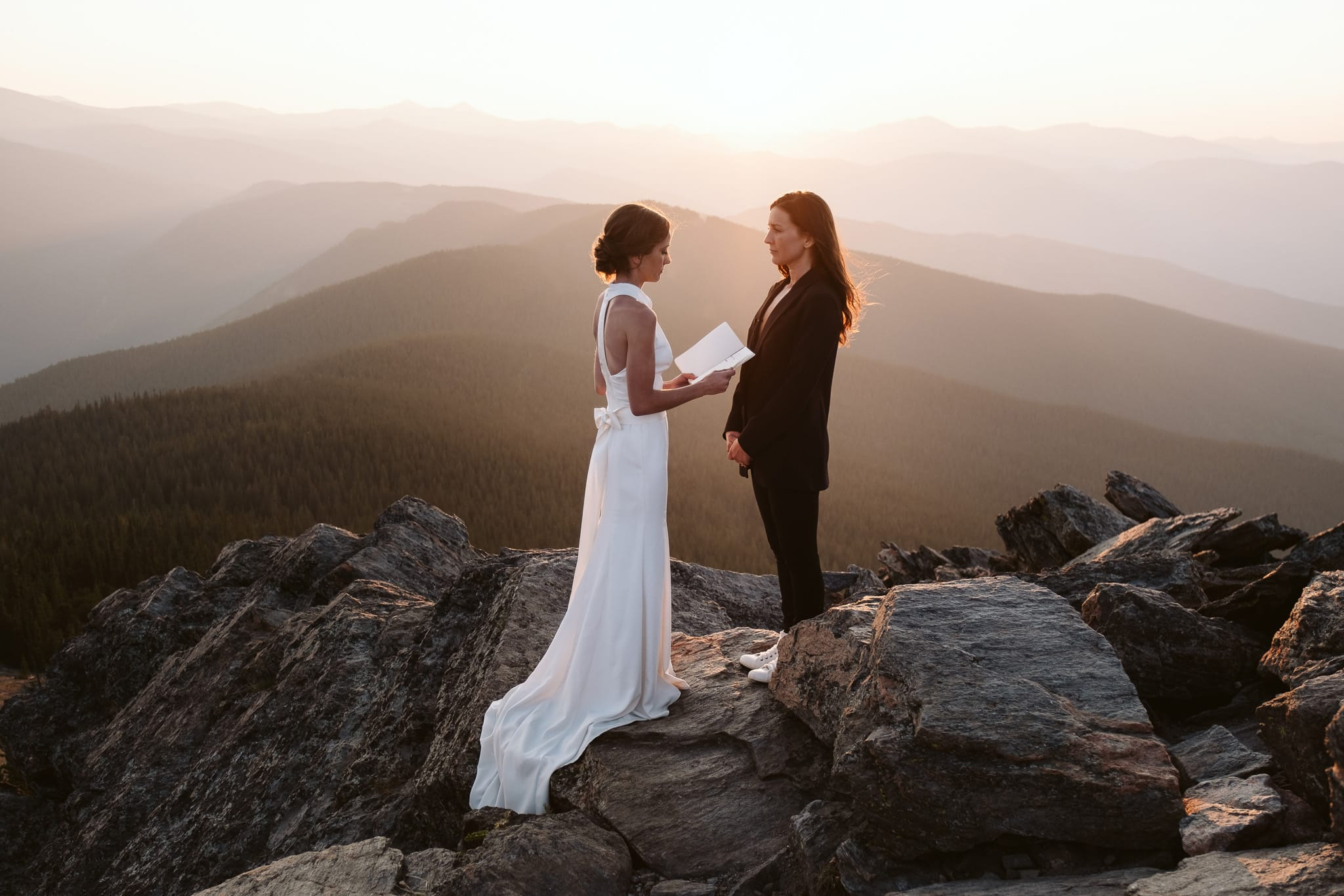Colorado LGBTQ+ elopement photographer